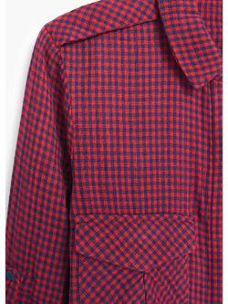 Рубашки Mango                                                                                                              красный цвет