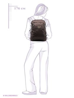 Рюкзаки Jack Wolfskin                                                                                                              чёрный цвет