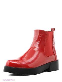 Ботинки Daze                                                                                                              красный цвет