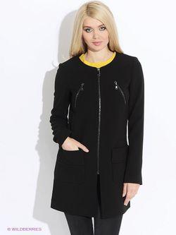 Пальто MOTIVI                                                                                                              черный цвет