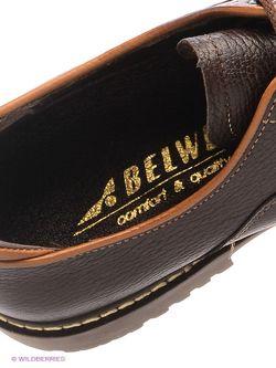 Ботинки BELWEST                                                                                                              коричневый цвет