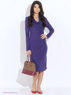 Платья Oodji                                                                                                              фиолетовый цвет