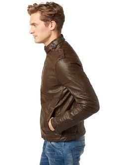Куртки TOM TAILOR                                                                                                              коричневый цвет