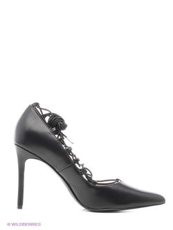 Туфли Mango                                                                                                              чёрный цвет