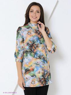 Блузки RUXARA                                                                                                              голубой цвет