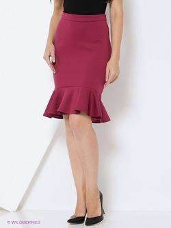 Юбки RUXARA                                                                                                              Малиновый цвет