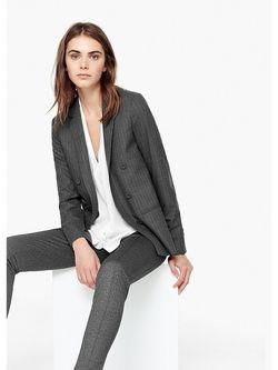 Пиджаки Mango                                                                                                              серый цвет