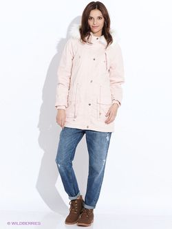 Куртки Befree                                                                                                              розовый цвет
