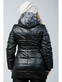 Куртки А Б Коллекция                                                                                                              чёрный цвет