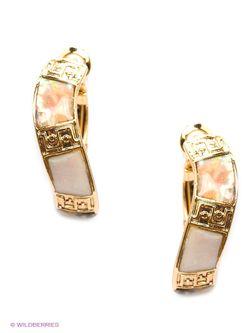 Серьги Bijoux Land                                                                                                              Золотистый цвет