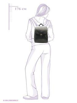 Рюкзаки David Jones                                                                                                              чёрный цвет