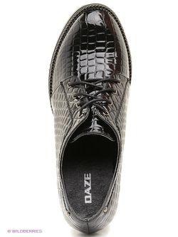 Ботинки Daze                                                                                                              чёрный цвет