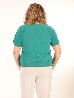 Блузки SPARADA                                                                                                              Бирюзовый цвет