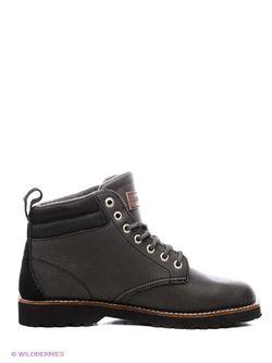 Ботинки Quiksilver                                                                                                              черный цвет