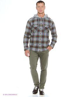 Рубашки Quiksilver                                                                                                              серый цвет