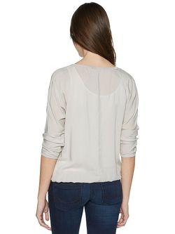 Блузки TOM TAILOR                                                                                                              серый цвет