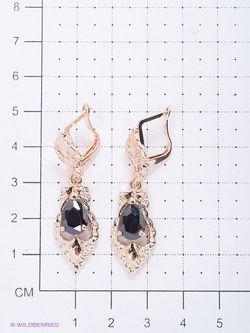 Серьги Royal Diamond                                                                                                              черный цвет
