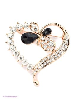 Броши Royal Diamond                                                                                                              Золотистый цвет