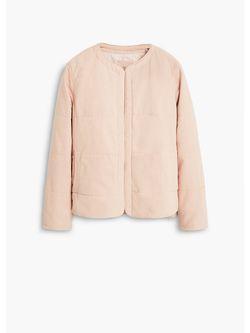 Куртки Mango                                                                                                              розовый цвет