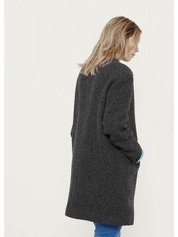Пальто Violeta by Mango                                                                                                              серый цвет