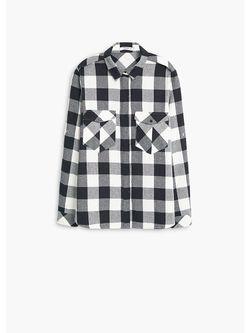Рубашки Mango                                                                                                              чёрный цвет