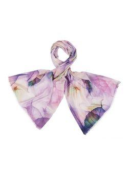 Палантины Модные истории                                                                                                              фиолетовый цвет