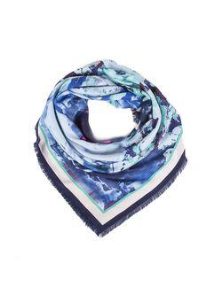 Платки Модные истории                                                                                                              голубой цвет