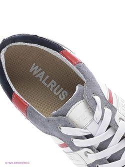 Кеды Walrus                                                                                                              белый цвет