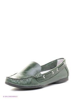 Туфли Walrus                                                                                                              зелёный цвет