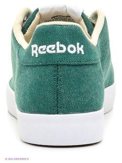 Кеды Reebok                                                                                                              зелёный цвет