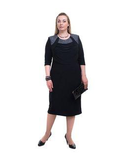 Платья Olsi                                                                                                              черный цвет