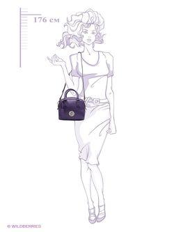 Сумки Alessandro Birutti                                                                                                              фиолетовый цвет