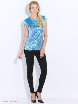 Блузки Oodji                                                                                                              Бирюзовый цвет