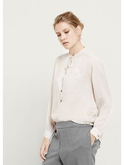 Блузки Violeta by Mango                                                                                                              серый цвет