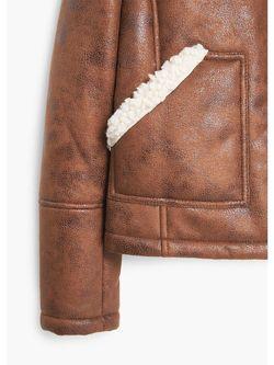 Куртки Mango                                                                                                              коричневый цвет