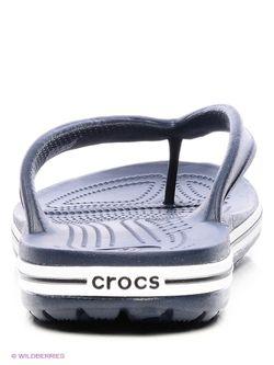Шлепанцы Crocs                                                                                                              синий цвет