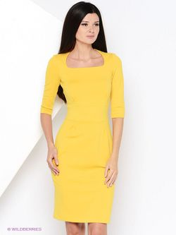 Платья RUXARA                                                                                                              Горчичный цвет