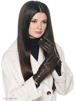 Перчатки Isotoner                                                                                                              коричневый цвет