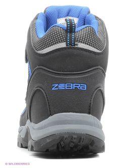 Ботинки Зебра                                                                                                              черный цвет