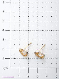 Серьги Lovely Jewelry                                                                                                              Золотистый цвет