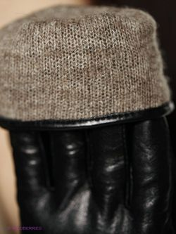 Перчатки Sabellino                                                                                                              черный цвет