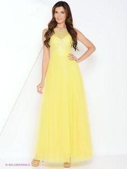 Платья Vip Style                                                                                                              желтый цвет