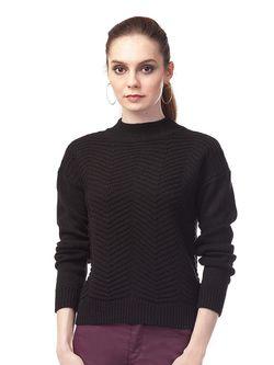 Свитеры Vilatte                                                                                                              черный цвет