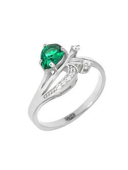 Ювелирные Кольца Balex                                                                                                              зелёный цвет