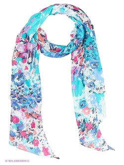 Палантины Laura Milano                                                                                                              голубой цвет