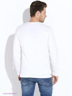Лонгслив MeZaGuz                                                                                                              белый цвет