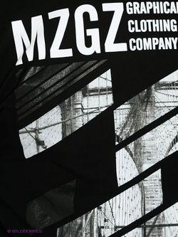 Лонгслив MeZaGuz                                                                                                              чёрный цвет