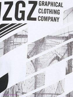 Лонгсливы MeZaGuz                                                                                                              белый цвет