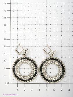 Серьги Lovely Jewelry                                                                                                              чёрный цвет