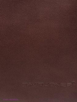 Клатчи David Jones                                                                                                              коричневый цвет
